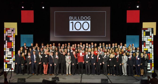 Terry grads are the sauce on top of Bulldog 100