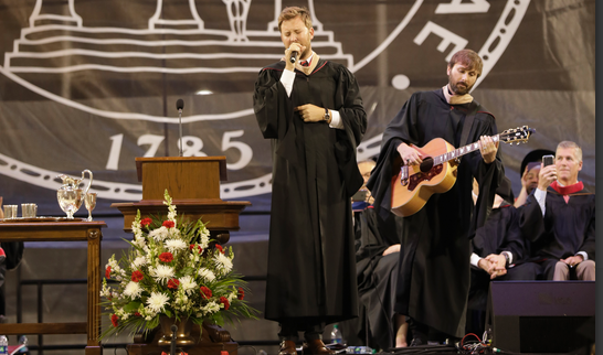 Terry alumni share advice and a song with Class of 2018