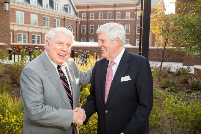 Men behind Moore-Rooker Hall spent their careers giving back