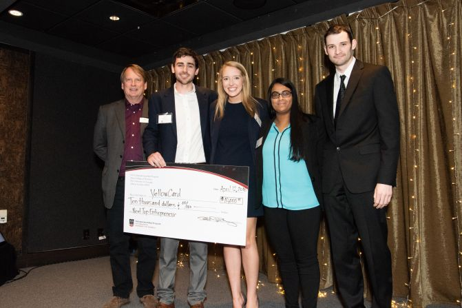 $10,000 prize awarded to winner of UGA's Next Top Entrepreneur for 2018