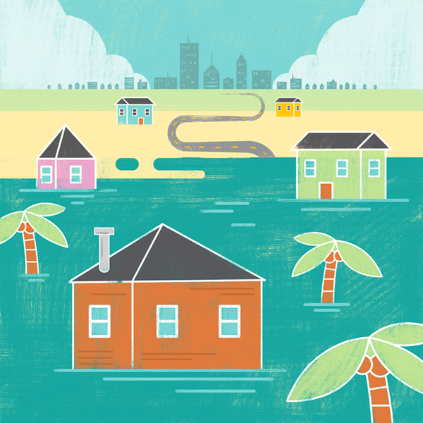 Cheaper flood insurance doesn't necessarily mean homeowners hit the beach