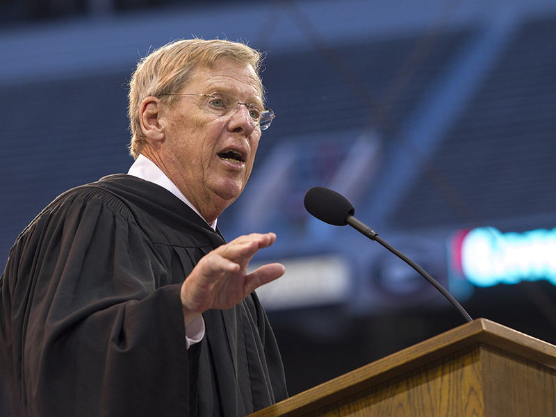 "John H. ""Johnny"" Isakson (BBA '66)"