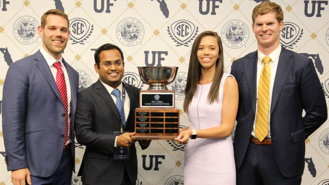 University of Georgia wins 2017 SEC MBA Case Competition